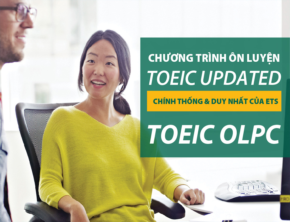 TOEIC OLPC – TOEIC® Official Learning and Preparation Course