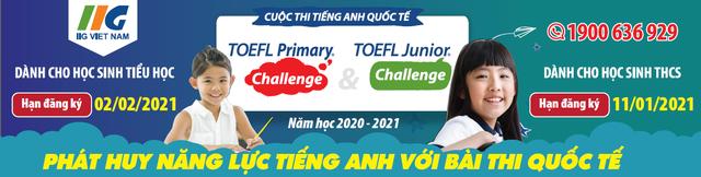 bài thi quốc tế TOEFL Primary và TOEFL Junior