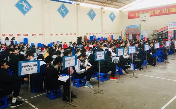 Đông đảo thí sinh hào hứng tham dự cuộc thi TOEFL tại Hải Phòng