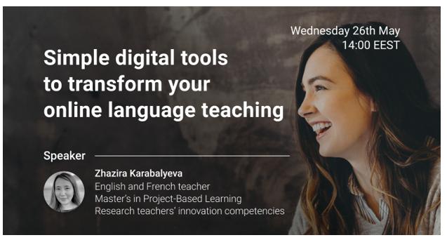"""Hội thảo trực tuyến: """"Ứng dụng công cụ kỹ thuật số để giảng dạy trực tuyến hiệu quả"""""""