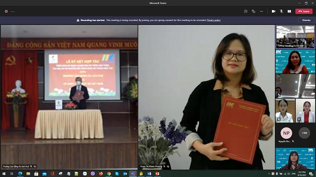 IIG Việt Nam và Trường CĐ Du lịch Huế hợp tác chuẩn hóa đầu ra tiếng Anh và Tin học quốc tế cho sinh viên của Trường
