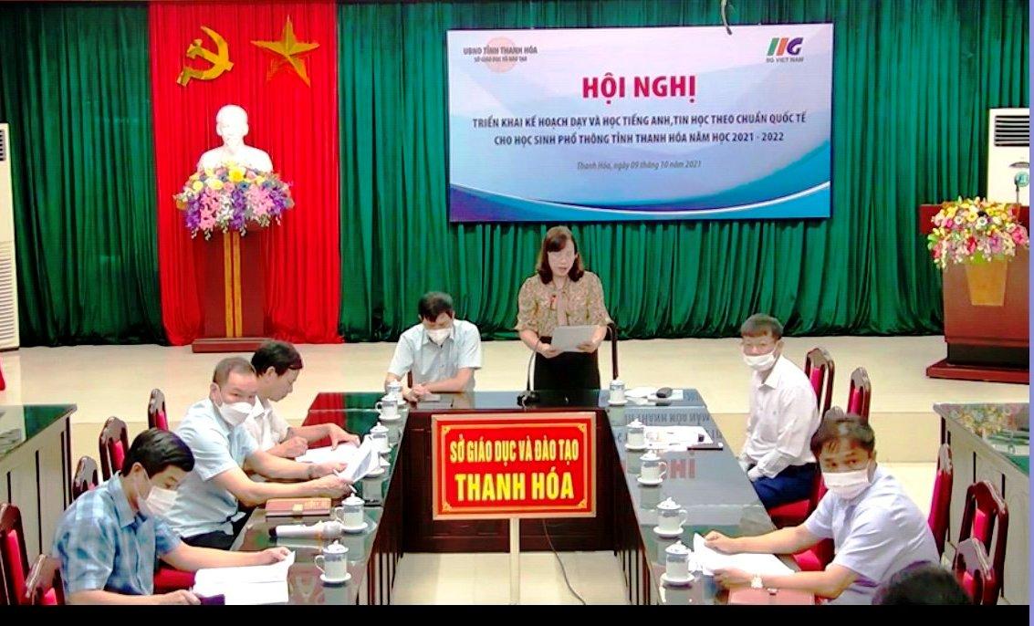IIG Việt Nam hợp tác toàn diện với Sở GD&ĐT Thanh Hóa trong việc nâng cao chất lượng dạy và học tiếng Anh và Tin học theo chuẩn quốc tế cho học sinh phổ thông